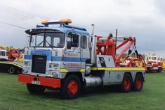 SCAMMELL old tow wrecker truck (UK)