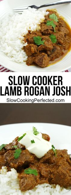 Homemade Slow Cooker Lamb Rogan Josh - Slow Cooking Perfected