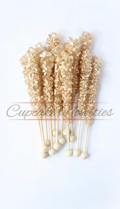 gold wedding theme -  Elegant & delicious All Gold themed Rock candy with pretty gold finish! Great for Gold wedding favors, a Gold Bridal Shower, Gold Baby Shower, Great Gatsby party, Art Deco party, dessert table treats, a glam gold themed birthday, baby shower or bridal shower party or for an elegant Gold Wedding dessert table or favors!