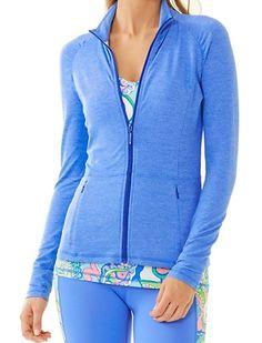 Lilly Pulitzer Luxletic™ Weekender Jacket in Bay Blue