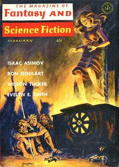 scificovers:  The Magazine of Fantasy and Science...