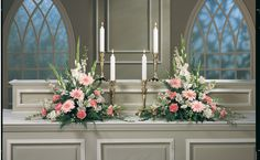 alter flowers daisy | Altar Arrangement