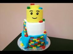 How to: Lego Cake Tutorial - YouTube