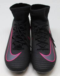 24a47826408 eBay  Sponsored Nike Youth 4.5 Mercurial Victory Soccer Cleats Black Pink  NWOB 43276 Nike