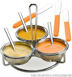 Molhos para fondue!