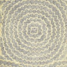 """Schumacher Feather Bloom 24' x 34"""" Wallpaper Roll Color: Onyx/Gold"""