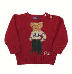 Jersey niño  9 meses de la marca POLO RALPH LAUREN 60 euros -85% = 9´00 euros ,en la tienda de ropas infantil de segunda mano  Charamusco . Respomsable con el medio Ambiente
