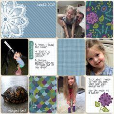 Becky Higgins- Project Life  Rain Core Kit