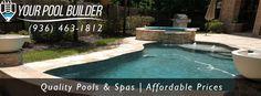 inground pool builders livingston, xy 77351