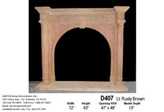 images of victorian fireplace mantles | Marble Fireplaces with Over mantels
