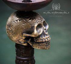 Hookah / Shisha Skull by Kalyanbali
