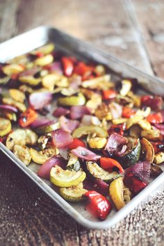 Grilled or Roasted Parmesan Balsamic Veggies