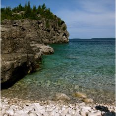 Bruce Peninsula Provincial Park, Georgian Bay Ontario, where I fell in love. I Fall In Love, Georgian, Ontario, Parks, Places To Visit, Relax, Vacation, Water, Summer