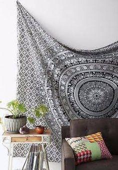Indian Mandala Throw Tapestry ...