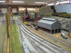 Ho Model RR Layouts | Medina Railroad Museum HO Scale Model Train Layout (6) - a photo on ...