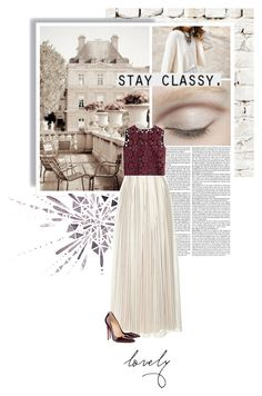 """old ways."" by eve-angermayer ❤ liked on Polyvore featuring Milton & King, Philosophy di Lorenzo Serafini, Christian Louboutin, Alberta Ferretti, Plum Pretty Sugar, pretty, burgundy, champagne, eveangermayer and angermayerevelin"