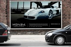 Corporate and Brand Identity. Monza by Higher , via Behance