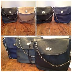 "Bag: ""Samba"" Color: Blue, Grey, Black"