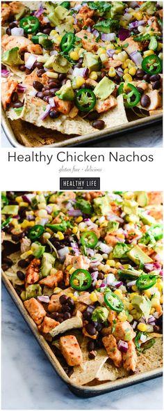 Healthy Chicken Nachos - A Healthy Life For Me