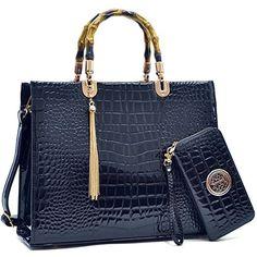 MMK collection Women Fashion Matching Satchel handbags wi...