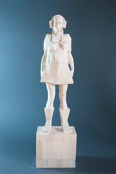 Wood Sculpture Dmitriy Ivanenko