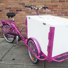 Bike Food Carts: Icicle Tricycles YES this is for me it's Purple!