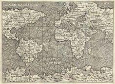 Antique_Map_Porcacchi_World