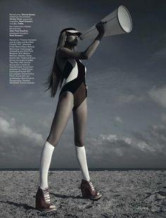 Fitness Fashion Editorial – Bohemian Prints