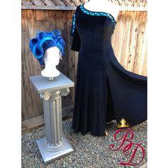 Female Hades Underworld Genderbent Inspired Women's Costume Dress Adult Custom