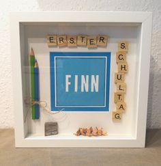 Ribba frame schooling, first day of school framed. Memories, pens - Ribba frame schooling, first day of school framed. First Day Of School, Back To School, Easter Gifts For Kids, School Frame, Ribba Frame, Schools First, Box Frames, Diy And Crafts, Event Planning
