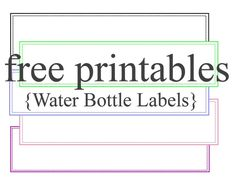 Pin On Blank Label Templates