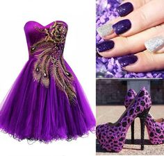 Gorgeous purple everything!