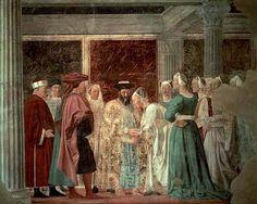 Adoration du Bois sacré et La Rencontre de la reine de Saba et du roi Salomon Piero Della Francesca (1415 - 1492)