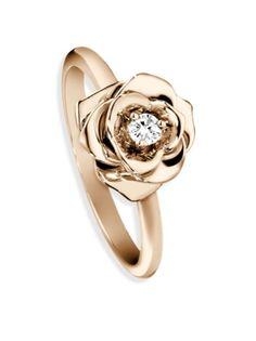 Piaget - Rose Diamond & 18K Rose Gold Ring