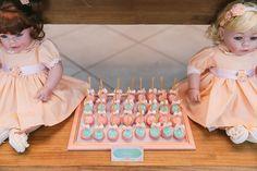 festa infantil casa de bonecas