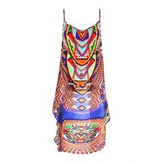 Designer High Low Boho Tops | Shahida Parides - Shahida Parides ($247) ❤ liked on Polyvore featuring tops, boho chic tops, boho tops, tribal tops, ethnic print top and bohemian style tops