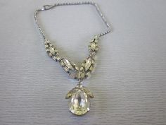 Vintage Weiss Costume Diamond Rhinestone Necklace by boivin628