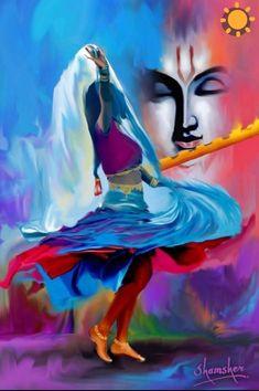 30 Traditional Indian Art Paintings on Canvas 30 Traditional Indian Art Paintings on Canvas - Cartoon District Arte Krishna, Krishna Radha, Radha Krishna Paintings, Radha Rani, Durga, Lord Krishna Images, Radha Krishna Pictures, Ganesha Pictures, Krishna Photos