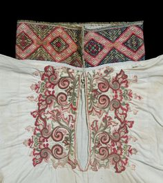 Skjorte @ DigitaltMuseum.no Scandinavian Embroidery, Hardanger Embroidery, Alexander Mcqueen Scarf, Norway, Folk, Arts And Crafts, Textiles, Traditional, Costumes