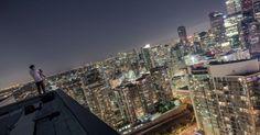 """Photographer records images that """"give vertigo"""" - Fotógrafo registra imagens que """"dão vertigem"""""""