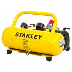 Stanley 5L Oil Free Air Compressor, 0.5hp, 2 Year Warranty. The Stanley 0.5HP 5L Oil Free Air Compressor is suitable for light to medium duty jobs around the home such as inflating tyres or toys and cleaning the workbench. With 14 L/min free air delivery at 115PSI, this air compressor will be a great asset to any home garage. It also includes a wall mount kit for easy storage. Stanley Products, Generators For Sale, Garage House, Air Compressor, Power Tools, Outdoor Power Equipment, Cleaning, Oil, Easy Storage