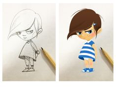 Little Girl Character #character #kid