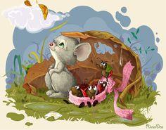 Сообщество иллюстраторов / Иллюстрации / RivusDea / мышь