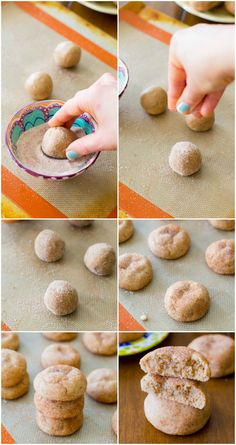 Soft & Thick Snickerdoodles in 20 minutes. Absolutely my favorite snickerdoodle recipe!