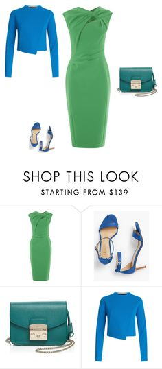 """""""аналогия"""" by meaygul on Polyvore featuring мода, Talbots, Furla и Roland Mouret"""