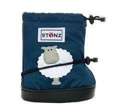 Stonz Bootie Sheep Navy Blue