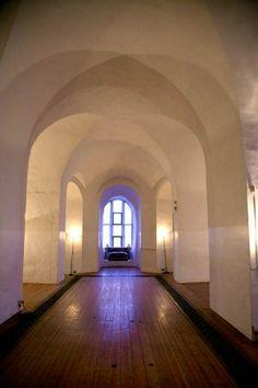 Interior corridor of Colchester Castle Museum