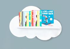 Cloud Wall Shelf X Large No Front Cloud by ShopLittles on Etsy, $52.00