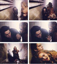 When Allison died, Lydia lost her BFF, still so sad. Teen Wolf