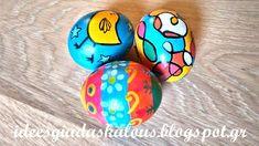 Ιδεες για δασκαλους: Πασχαλινά αυγά με μαρκαδόρους και λαδοπαστέλ Eggs, Egg, Egg As Food